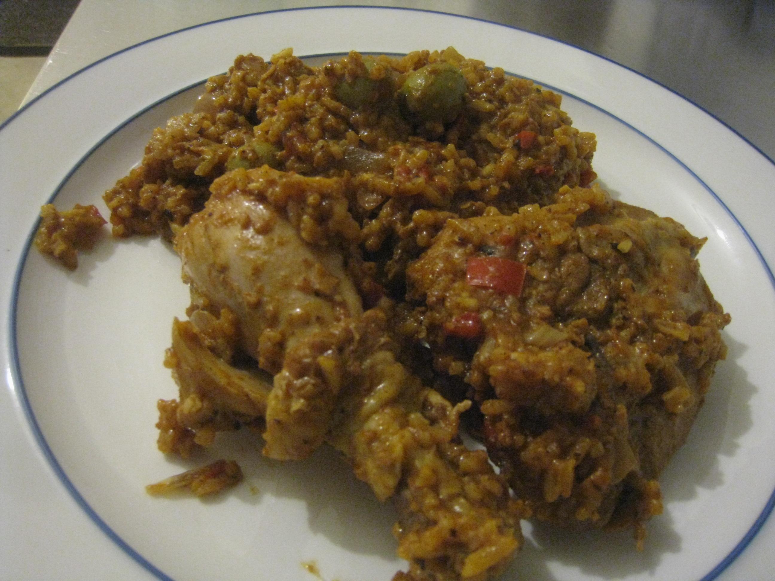 arroz con polloDominican Arroz Con Pollo